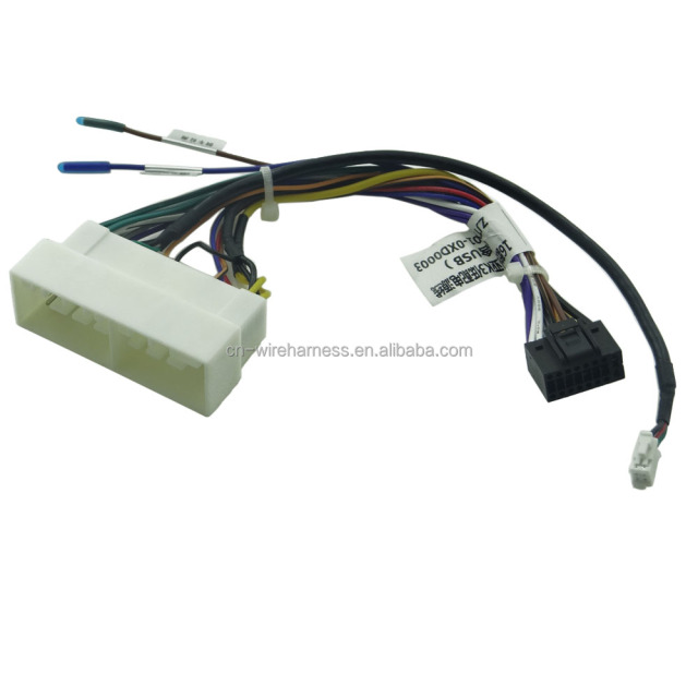 New type car dvd stereo Wiring harness_640x640xz amazon com metra turbowires 71 2003 1 wiring harness car  at aneh.co