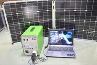 Factory Price Green Power China Supplier solar system 100w 1kw 3kw with battery and DC/AC output