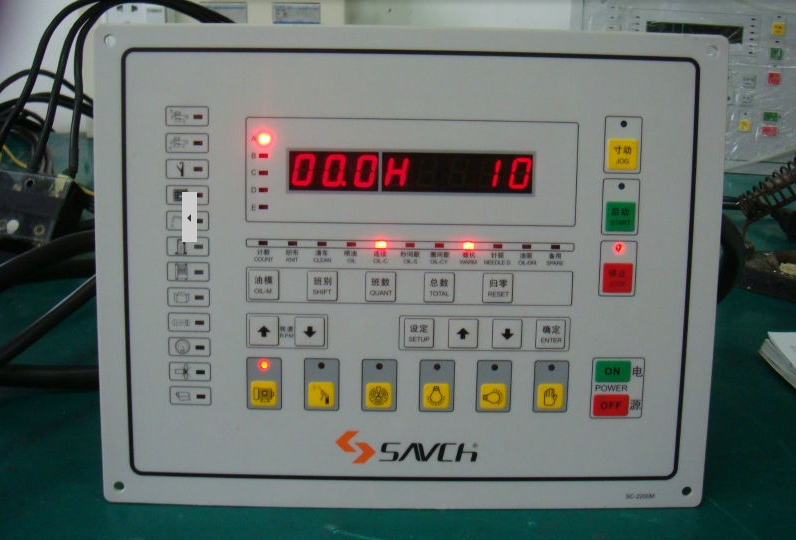 Sanch SC-2200 & SC-2000E high performance Control panel computer controlled knitting machine