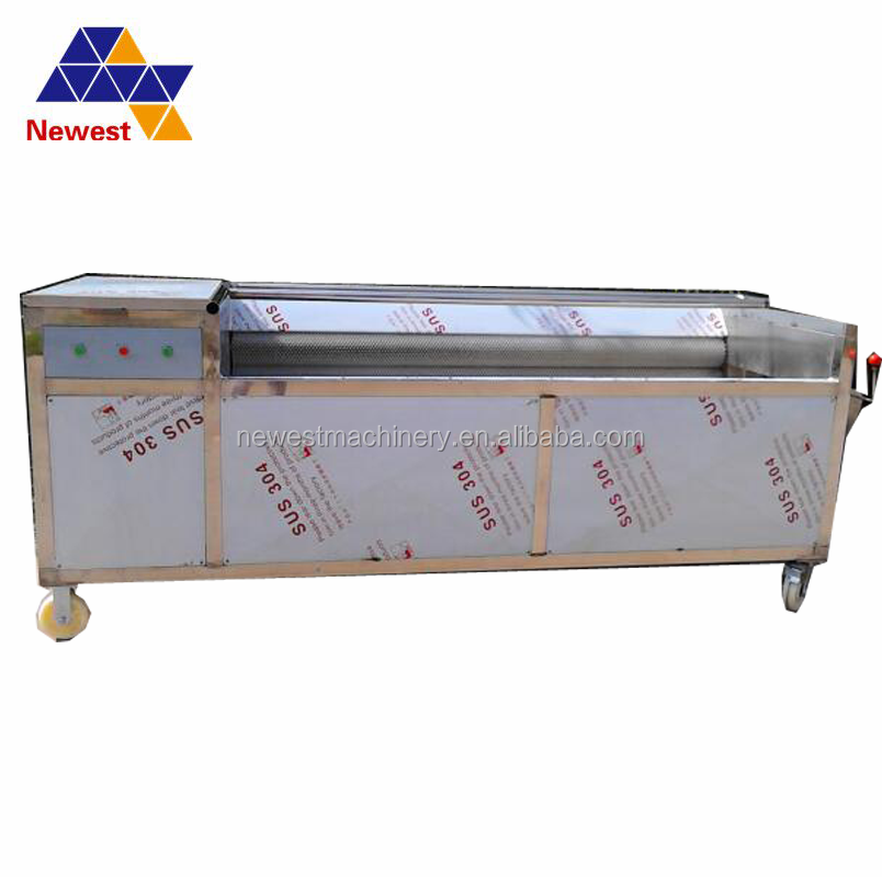 Good supplier fruit washing machine for sale/Best selling commercial fruit orange apple washing machines for sale/fruit washer