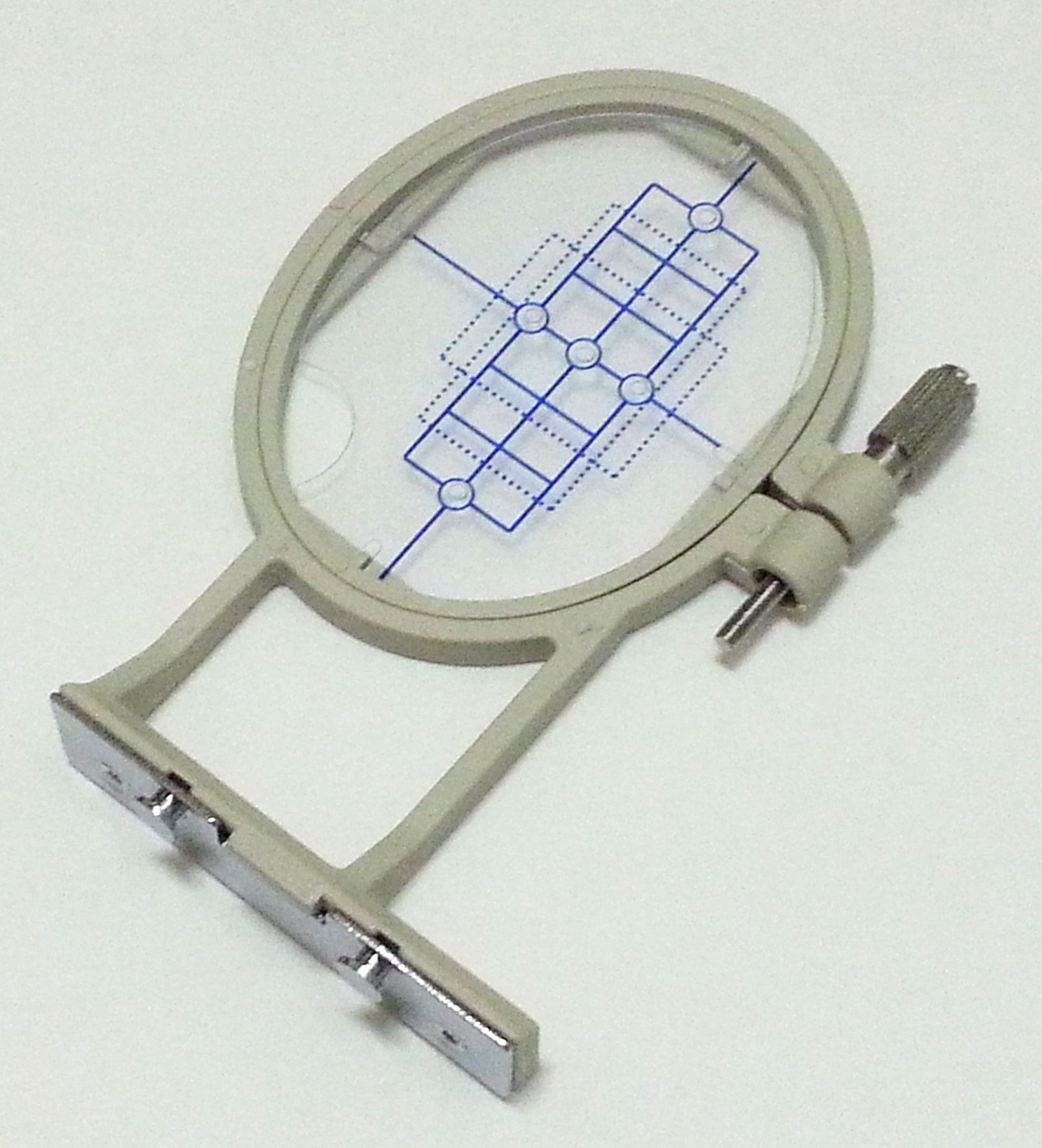 HE-120 SE-400 900D 950D SB7050E SE-350 Large Embroidery Hoop w// Placement Grid PE-500 Innovis 950D LB6770PRW for Brother SE270D SA432 LB6800PRW Babylock Sofia A-Line and Babylock Intrigue from ThreadNanny by T Innovis 500D Innovis 900D HE-240