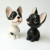 Cute resin dashboard dog animals mini bobble head figurines