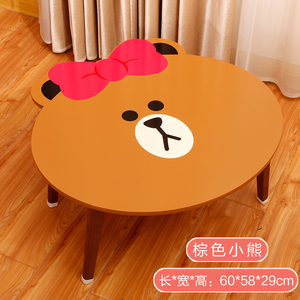 2018 hot sale portable cartoon laptop table folding bed study table