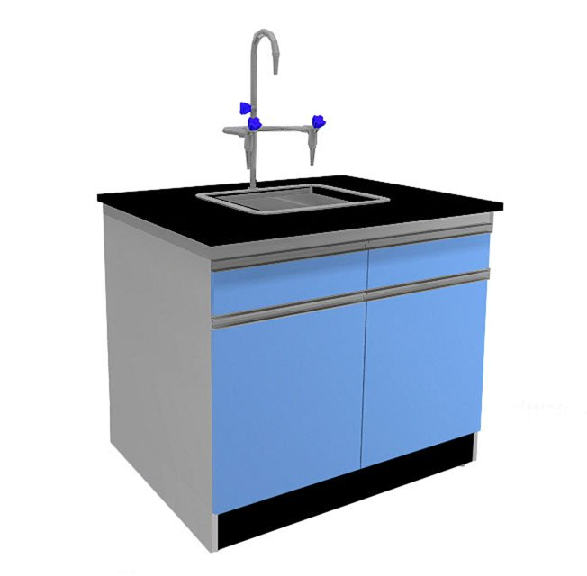 Island Chemical Lab table,Lab Bench with Sink,Buy Lab furniture from China