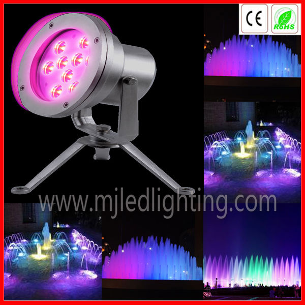 rgb multi color mixing led spring light