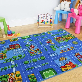 Kids Play Road Street City Country Map