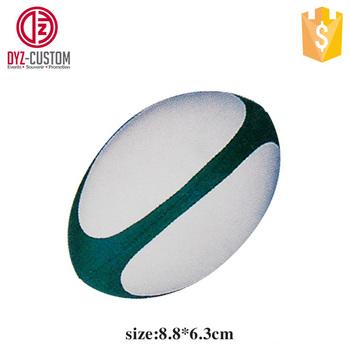 Customized Anti Stress Rugby Ball Promotion Pu Foam