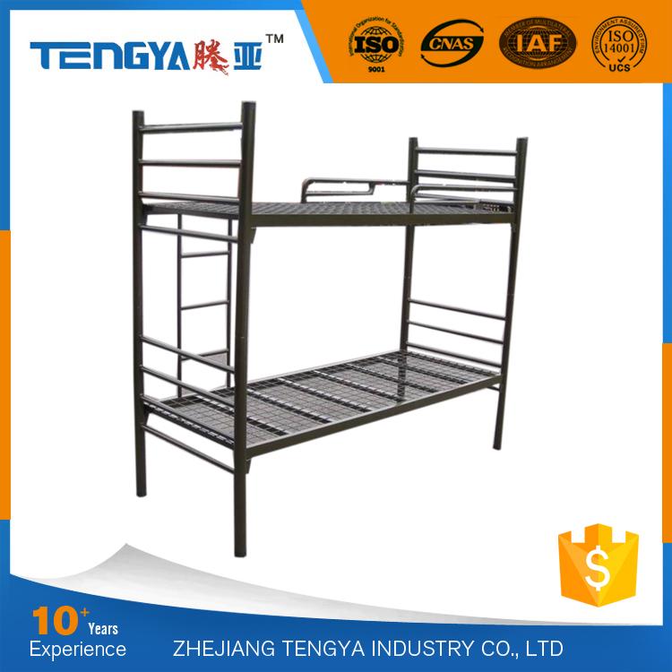 tengya fuerte dormitorio de la escuela literas metalicas cama de dos pisos cama de hierro para