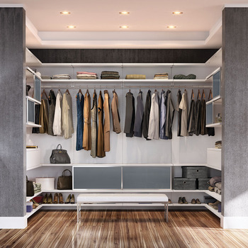 American High End Male Plywood Closet Cabinets Without Doors Bedroom Wooden  Wardrobe Designs