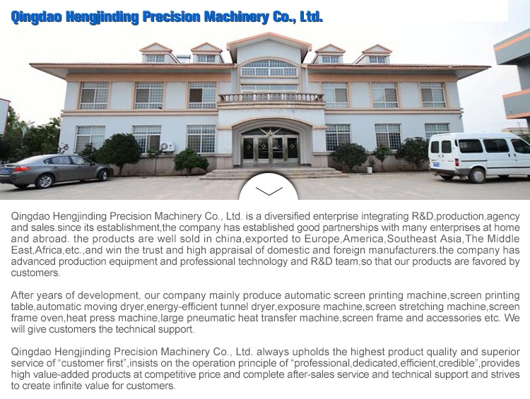 China Suppliers Manual Silk Screen Printing Machine Suction