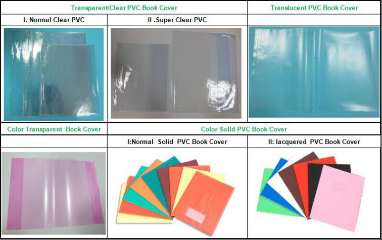 A5 Clear Transparent Plastic Book Cover Sheet Vinyl - Buy Plastic ...
