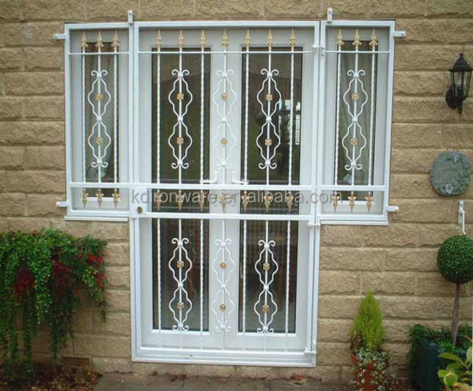 Decorative Wrought Iron Door & Window Grates