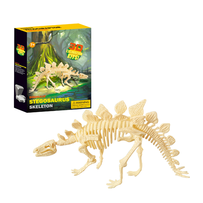 Reasonable Funny Educational Children Diy Toys Archaeology Dig Dinosaur Skeleton Dino Puzzle Toys Superior Quality In
