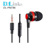 Custom In Ear Headphones Cheap Wired Earbuds with Mic Mobile Earphones