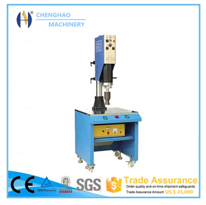 Trade Assurance Ultrasonic welder for ABS housing PP tube CE Approved