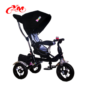 Kids metal 3 wheels infant tricycle/sport toy black baby tricycle bike/hot selling cheap tricycle for 3 year old