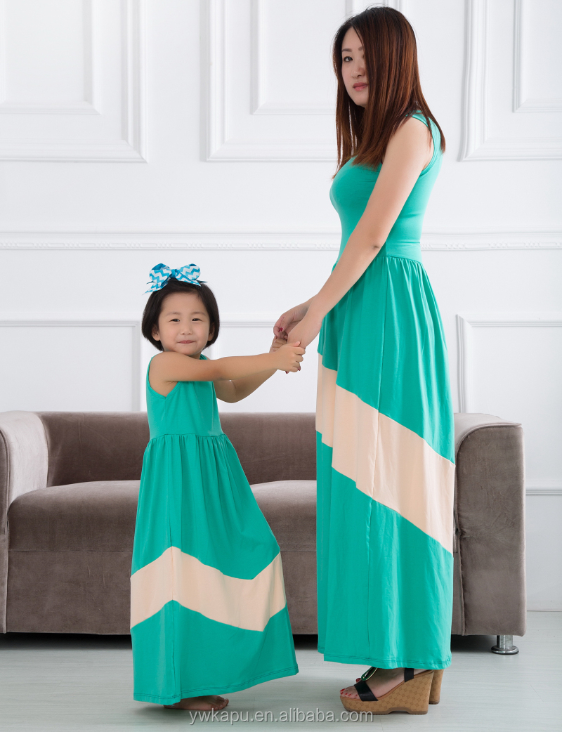 Fashion Design Mommy And Me Maxi Dress,Children Maxi Dress ...