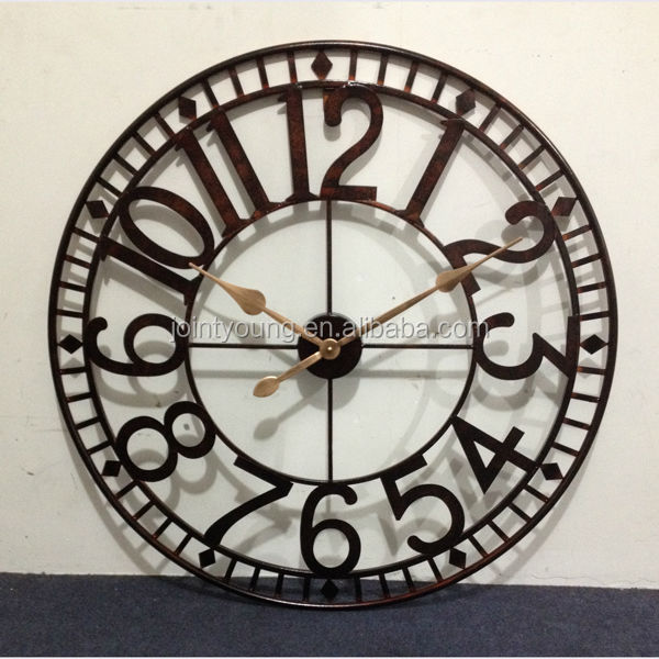 Large Outdoor Clock Metal Wall Clock Street Clock   Buy Large Outdoor Clock,Street  Clock,Metal Clock Product On Alibaba.com
