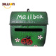 Lockable Outside Craft Design Wall Mounted Metal Mailbox, Letterbox Postbox