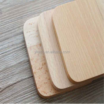 Square Wooden Tea Cup Coaster For