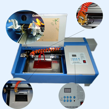 40W mini laser engraving machine eastern/small size laser cutting machine price Rabbit WD-3040
