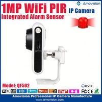 Amovision H.264 HD 720P Cloud and PIR wireless pinhole cctv camera system wireless p2p cctv ip camera