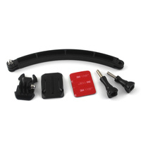 China made high quality assured hot sale safety accessory Helmet Curved Extension Arm Selfie Kit