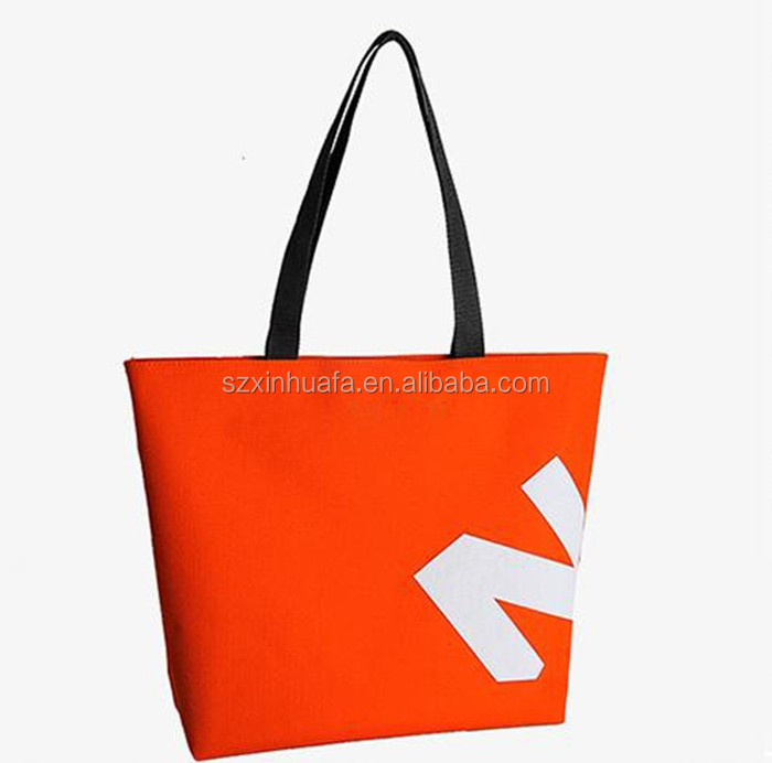 Hot Selling New Design Protable Red Shopping Bag