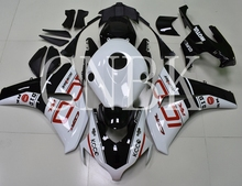Le Carenature in plastica CBR1000RR 2008-2011 Bianco Nero Kit <span class=keywords><strong>Corpo</strong></span> per Honda Cbr1000 RR 2011 Corredi Del <span class=keywords><strong>Corpo</strong></span> <span class=keywords><strong>CBR</strong></span> 1000 RR 2010