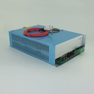 reci/yongli 80w co2 glass laser tube laser power supply for laser machine