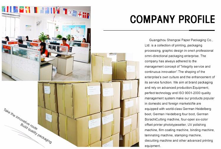 Gemakkelijk carry levering kraftpapier taart doos met handvat