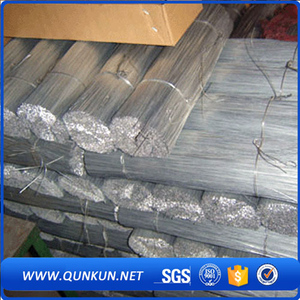 China supplier directly price electro galvanized iron annealed straight cut wire