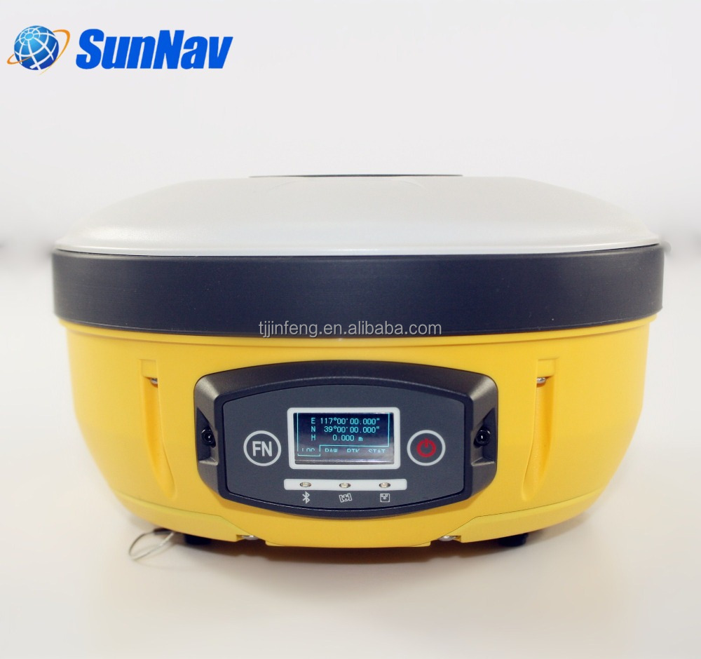 SunNav Base and Rover RTK GPS GNSS RTK System With centimeter accuracy