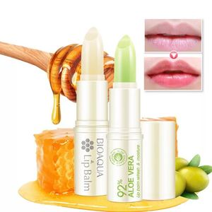 Bioaqua Natural Change Color Moisturizing lipstick With Two Types Honey Aloe Vera
