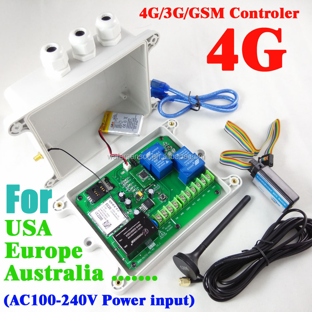 Gsm Relay Control Switch Box With Battery On Board And Alarm Input - Buy  Gsm Box,Gsm Switch,Gsm Relay Product on Alibaba com
