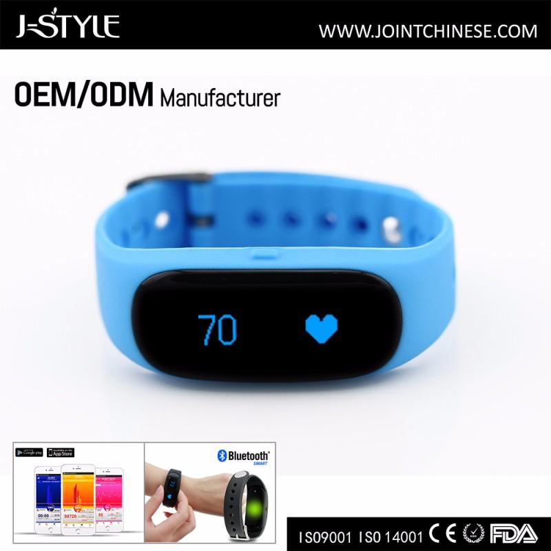 J-style B018 Ble 4.0 Smart Fitness Tracker Sleep Monitor Heart ...