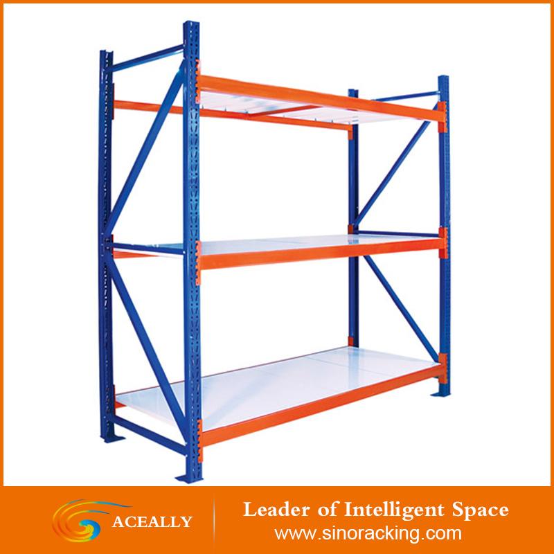 300KGS Longspan 棚ラック簡単に組み立て亜鉛メッキ棚