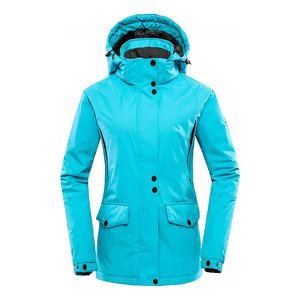 Ski Jumpsuit Womens Detachable Hood Waterproof Snow Jacket
