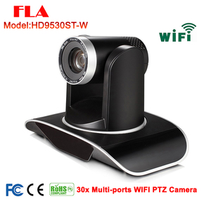 2MP 30x Optical Zoom IP WIFI PTZ Conference camera wireless with DVI 3G-SDI Port