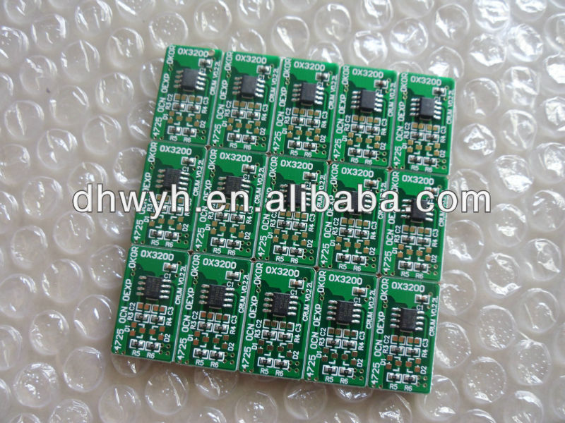 Compatible Laser Printer Copier Smart Chip For Xerox Phaser 3200 Chip Resetter 113R00730 Chip