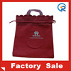 Cheap fancy small drawstring bag non woven gift bag wholesale