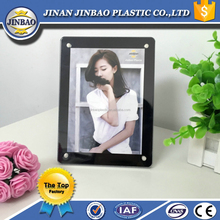 wholesale color a4 acrylic poster frame and acrylic cube photo frame