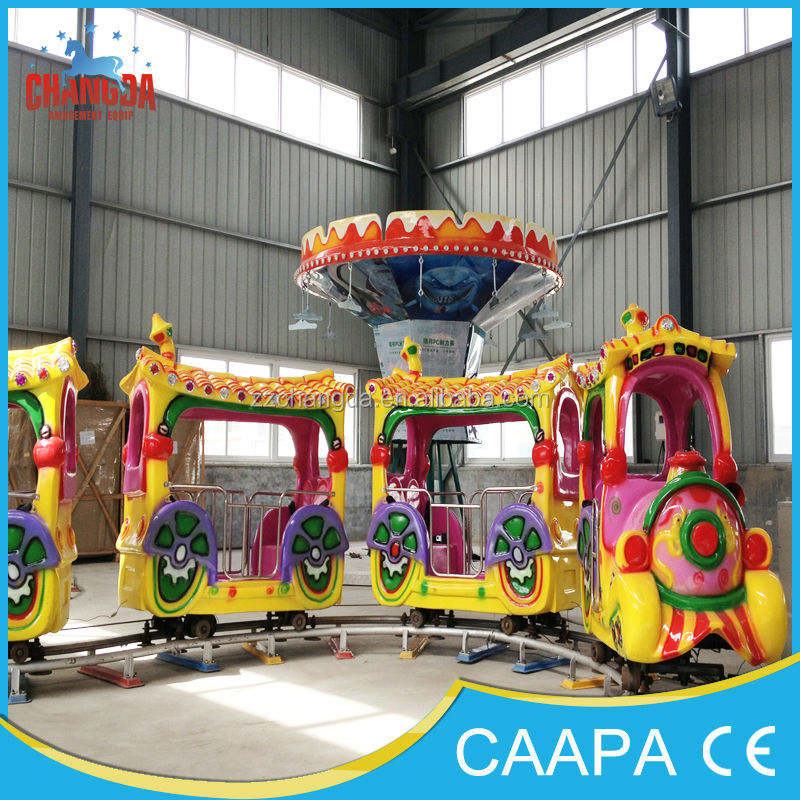 Fairy Trip!! Hot selling Christmas train electric playground equipment train for Sale