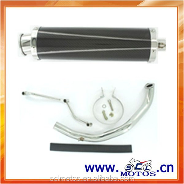 SCL-2013030510 Carbon Fiber Exhaust muffler for GY6-125