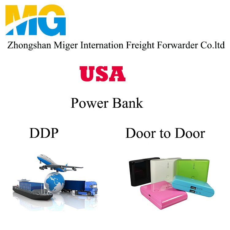 Solar Power Bank Express Delivery To America Canada USA From China Zhongshan Dongguan