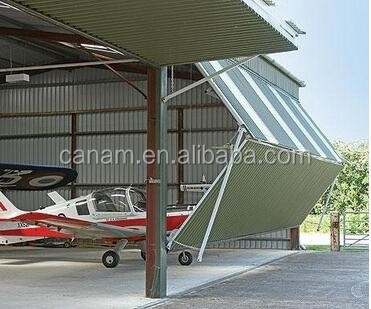 Steel Bi-Folding Aircraft Industrial Hangar Doors