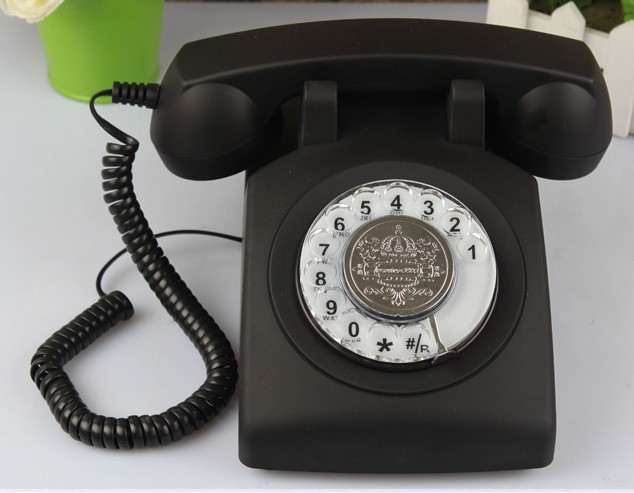 product detail  rotary dial telephone classic landline phone