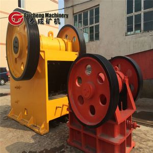potassium feldspar jaw breaker plaster jaw crushing plant plaster jaw production line