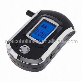 New Mouthpiece Digital Alcohol Tester AT6000/Breathalyzer/Professional Alcohol Breath Tester /Alcohol tester AT6000