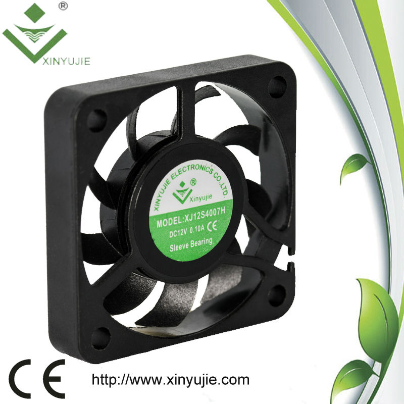 ventilator Ball Bearing charging fan price 40*40*07MM exhaust fan / popular bathroom exhaust wall mounted fan 5v12v